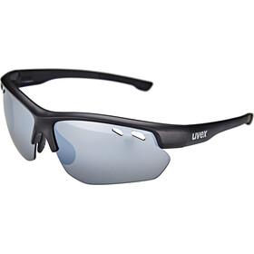 UVEX Sportstyle 115 Glasses, black mat/silver